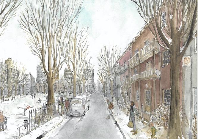 Illustration de Montréal