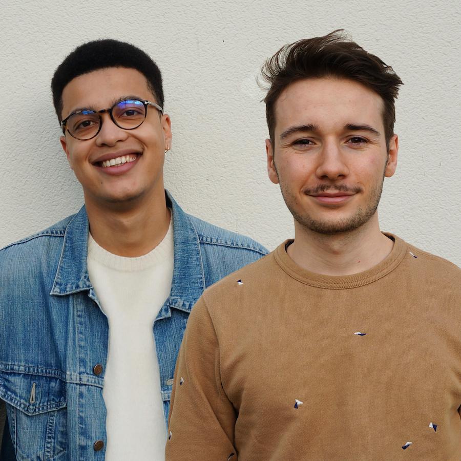 Abel Gaugry et Audric Mirlicourtois, étudiants ingénieurs
