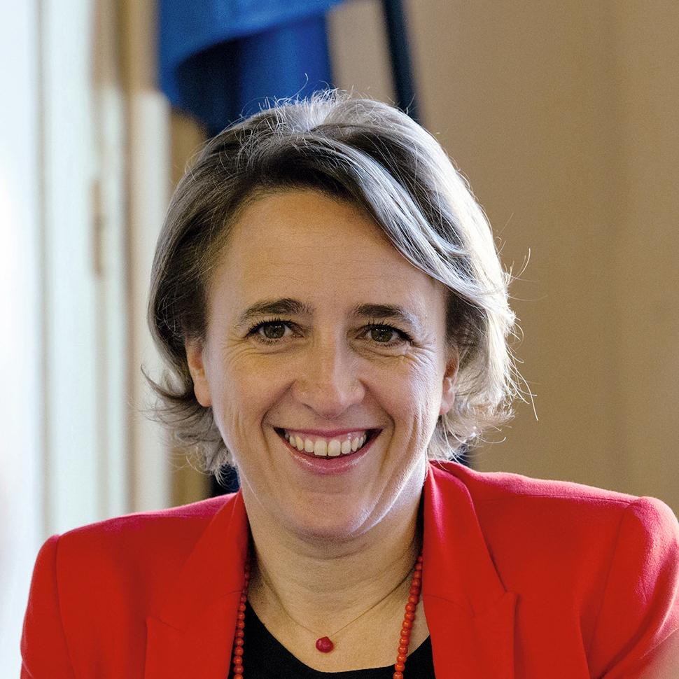 Stéphanie Guiraud-Chaumeil, maire d'Albi, Présidente de la Communauté d'Agglomération de l'Albigeois