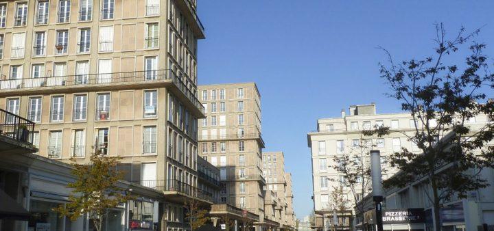 Vue du centre-ville du Havre