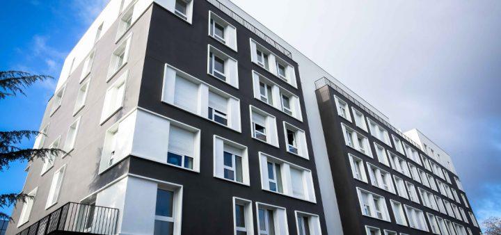 Vue de la future Maison relais du quartier des Marjoberts à Cergy-Pontoise (95) qui accueillera dès 2022, 28 logements à destination d'un public au parcours de vie « cabossé », en quête d'un peu de stabilité.